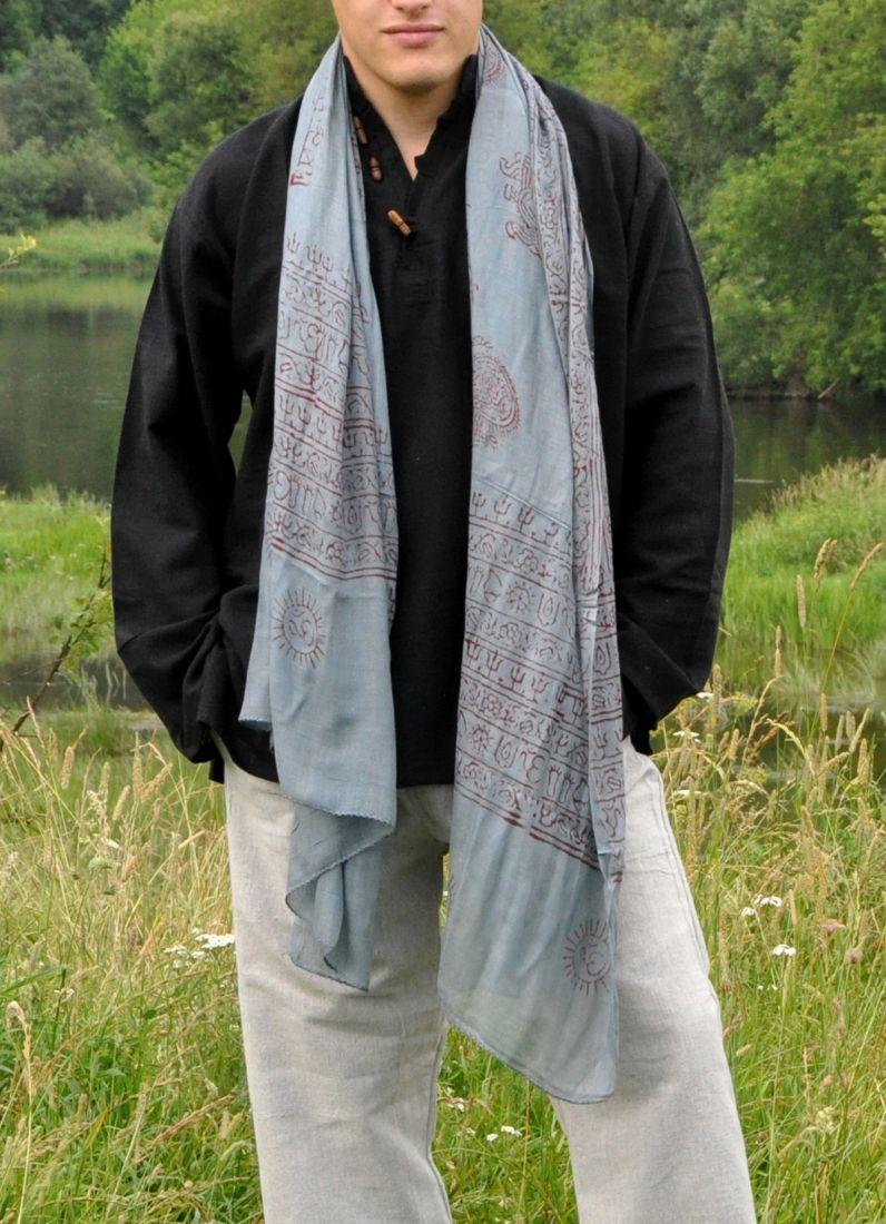 Универсальные шарфы из мягкого индийского хлопка (Москва)