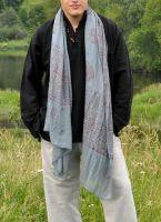 Тонкий летний хлопковый индийский шарф за 350 руб. Интернет магазин, Москва