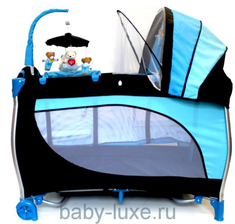 Кровать-манеж Stiony B6102
