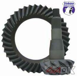 "High performance Yukon Ring & Pinion gear set for '04 & down Chrysler 8.25"" in a 4.56 ratio - YG C8.25-456"