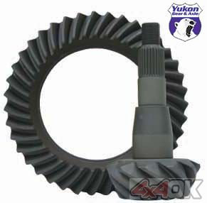 "High performance Yukon Ring & Pinion gear set for '04 & down Chrysler 8.25"" in a 4.56 ratio - YG C8.25-456"