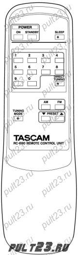 TASCAM RC-690, TU-690