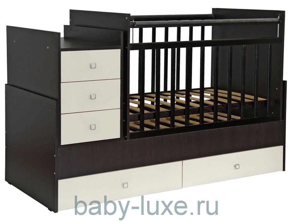 Кровать-трансформер детская Фея 1200