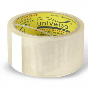 Клейкая лента 48х66 (40м)  потребительская UNIVERSAL прозрачная