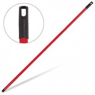 Черенок для щетки IDEA длина 120см, металлопласт, красный, (щетки 601321,-323; 600669,-670), М 5145