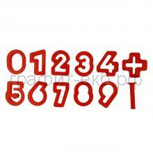 Формы для лепки цифры Jovi 4