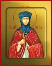 Икона Таисия Египетская (Фиваидская)