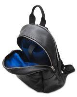HADLEY CITY BLACK кожаный городской рюкзак