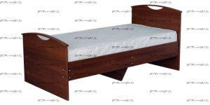 Кровать Людмила-9 с основанием (Детская), 90х190