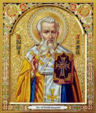 Григорий Армянский (рукописная икона)