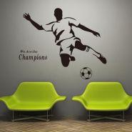Наклейка на стену футбол