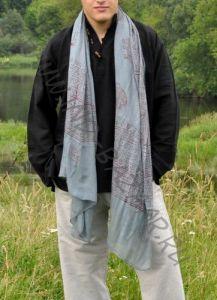 Индийские хлопковые шарфы