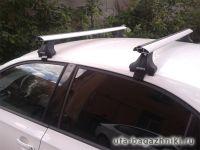 Багажник на крышу Skoda Octavia A7, Атлант, крыловидные дуги, опора Е