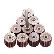 Лепестковые шлифовальные круги для дрели 10 штук
