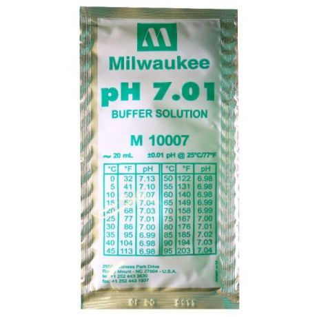 pH 7.01 Calibration Buffer Solution 20 ml Milwaukee
