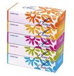 Японские бумажные двухслойные салфетки  Kami Shodji ELLEMOI 200шт