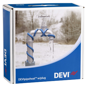 Обогрев труб DEVI нагревательный кабель саморегулируемый Deviflex DPH-10 (Pipeheat) 22 м  220 Вт
