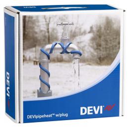 Обогрев труб DEVI нагревательный кабель саморегулируемый Deviflex DPH-10 (Pipeheat)  14 м  140 Вт