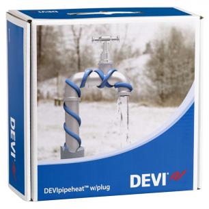 Обогрев труб DEVI нагревательный кабель саморегулируемый Deviflex DPH-10 (Pipeheat) 10 м  100 Вт