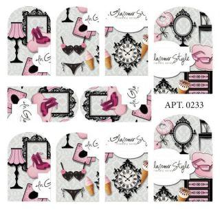 Слайдер-дизайн для ногтей № 0233