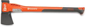 Топор-колун большой HUSQVARNA S2800, 70 см, пластиковая рукоятка, с пластиковым чехлом на лезвие 5807614-01