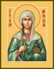 Икона Миропия Хиосская (рукописная)
