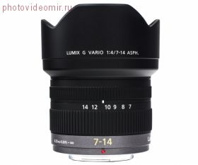 Объектив Panasonic Lumix H-F007014E G VARIO 7-14mm  F4.0 ASPH