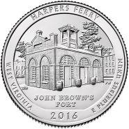 33-й Парк Национальный парк Харперс Ферри 25 центов
