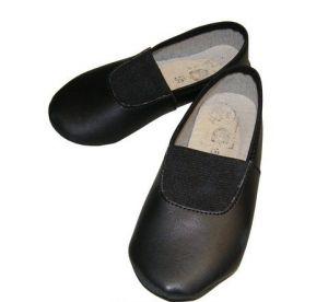 Чешки черные, размер 15,5