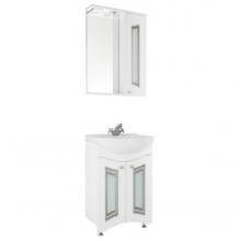 Зеркало-шкаф Vod-ok Адам С 55, со стеклами