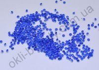 Хрустальная крошка для дизайна ногтей 1000 штук синяя