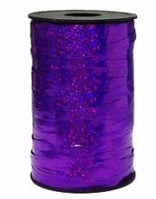 Лента голография, фиолетовый (0,5см*250м), Китай