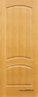 Межкомнатная дверь Капри-3 ПГ Дуб