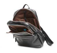 HADLEY HATTON BLACK кожаный городской рюкзак
