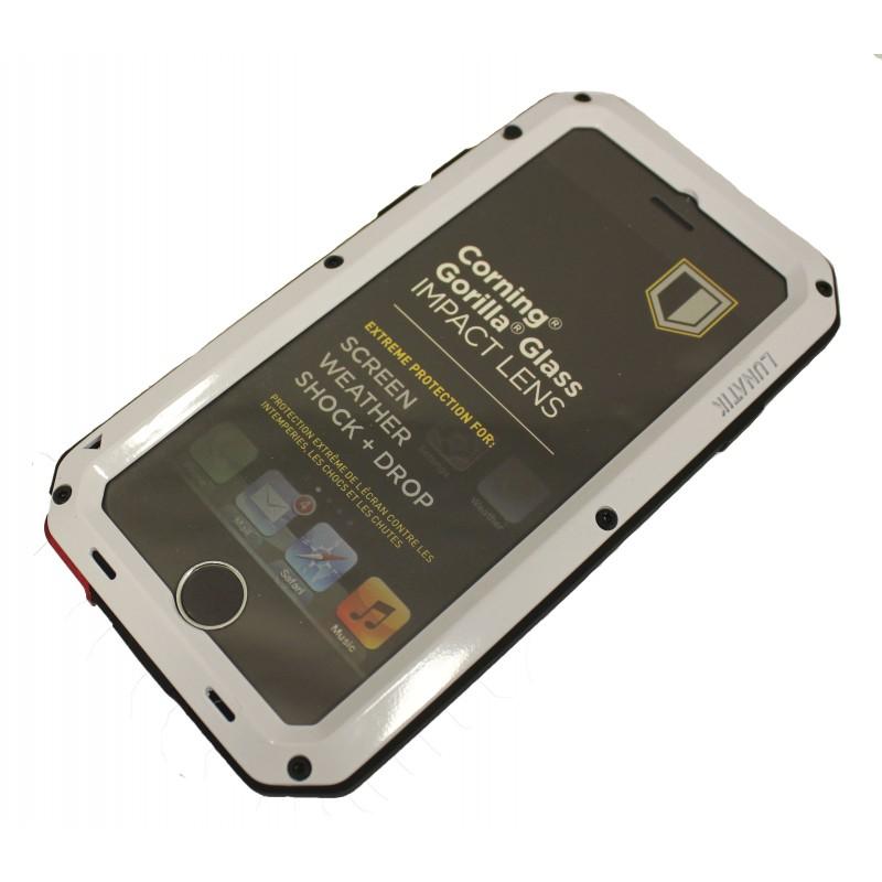 Антивандальный чехол LUNATIK TAKTIK EXTREME для Apple iPhone 6 (белый)