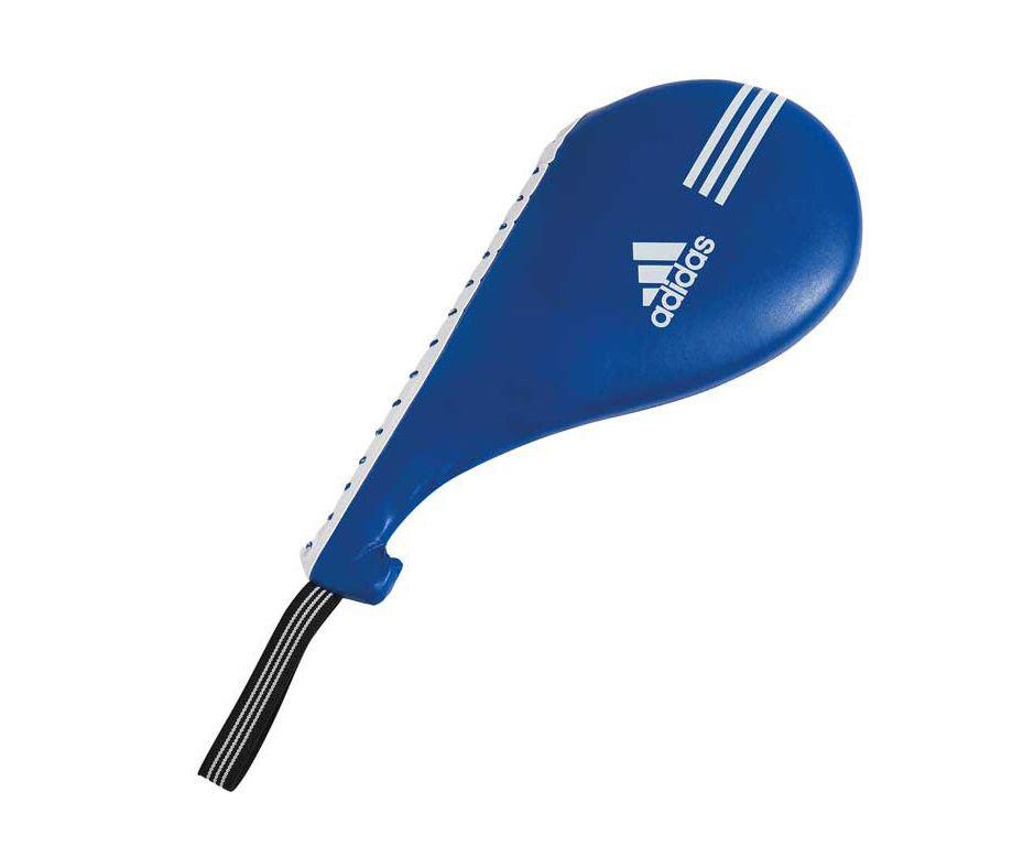 Ракетка Тэквон-до Adidas одинарная Maya Single Target Mitt синяя, размер L, артикул adiTST03