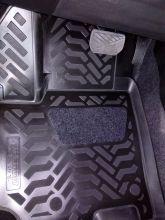 Коврики в салон, Aileron, 3D полиуретановые черные