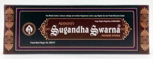 Аромапалочки Sugandha Swarna, 13 шт.