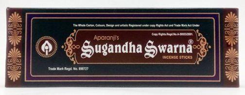 Аромапалочки Sugandha Swarna, 13 шт. (отправка из Индии)