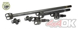 USA Standard 4340 Chromoly axle kit for JK non-Rubicon w/Spicer Joints - ZA W24164