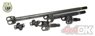 USA Standard 4340 Chromoly axle kit for JK non-Rubicon w/Super Joints - ZA W24166