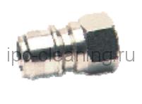 Ниппель ARS 305 высокого давления вход 3/8 гайка (TPL-03PF(SS304))