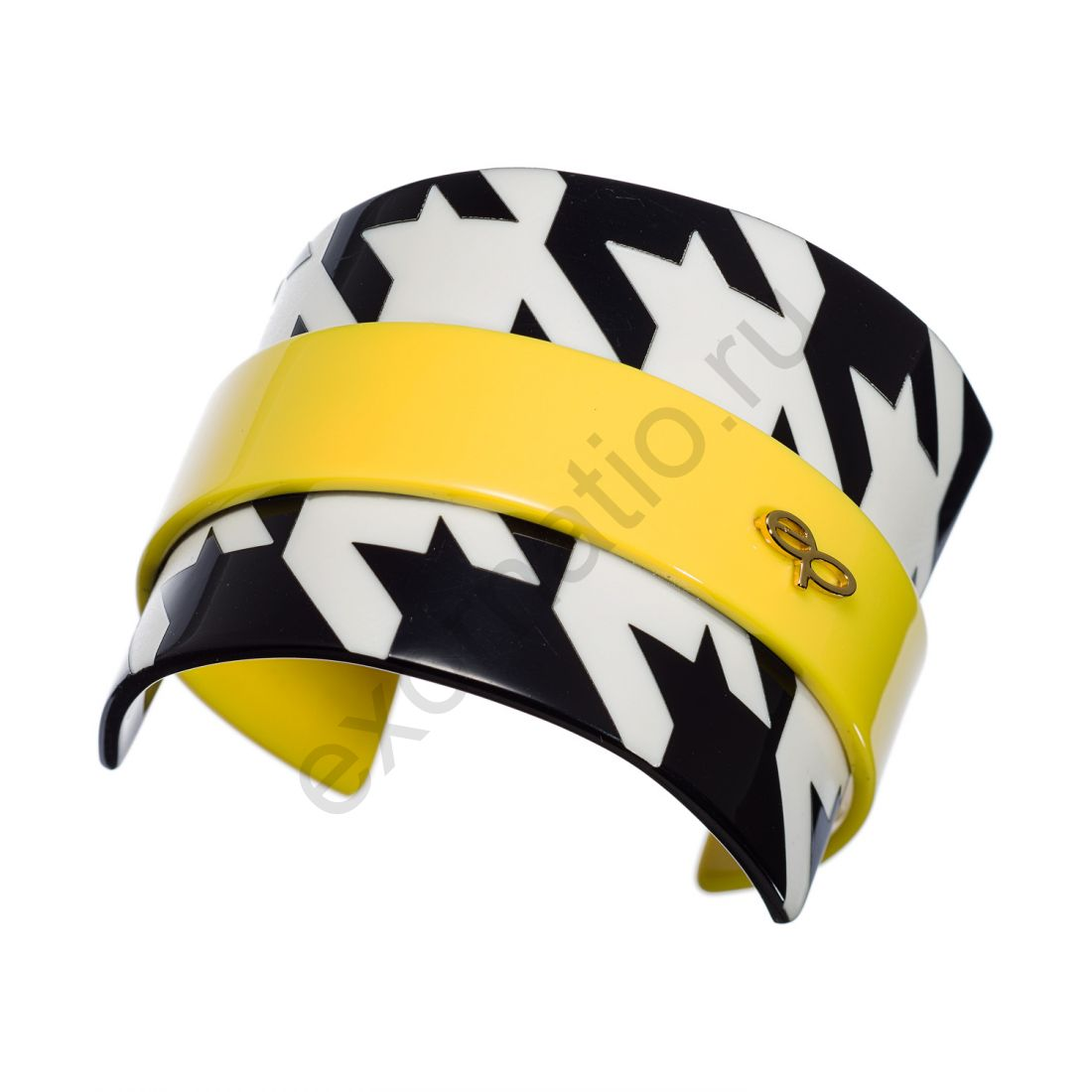 Браслет Evita Peroni 2945709. Коллекция Houndstooth Yellow