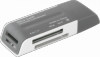 Универсальный картридер Ultra Swift USB 2.0, 4 слота