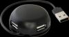 Универсальный USB разветвитель Quadro Light USB 2.0, 4 порта