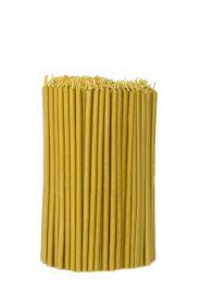 Свечи церковные восковые № 60, 2 кг. Длина 20 см, диаметр 6,8мм. 300 штук/пачка