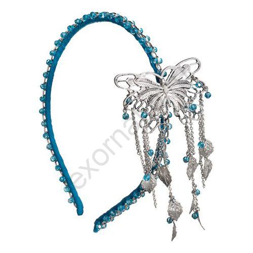 Ободок Evita Peroni 4246803. Коллекция Shubu Aquamarine