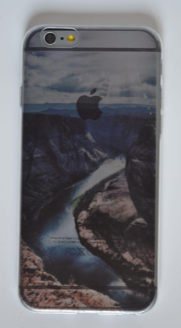 Силиконовый чехол iPhone 6/6S  каньон