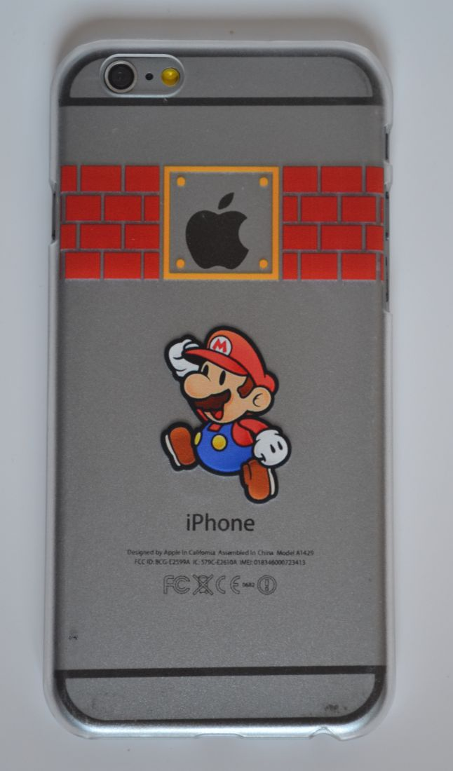 Чехол-накладка для iPhone 5/5s  марио