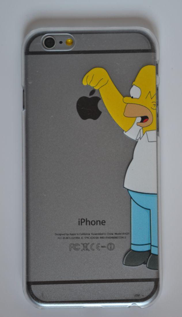 Чехол-накладка для iPhone 5/5s Гомер N1